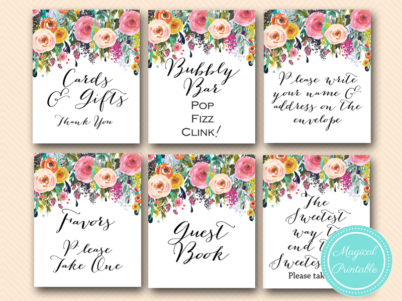 photo relating to Printable Bridal Shower Signs titled Wedding day Signs and symptoms, Bridal Shower Indicators, Boy or girl Shower Symptoms