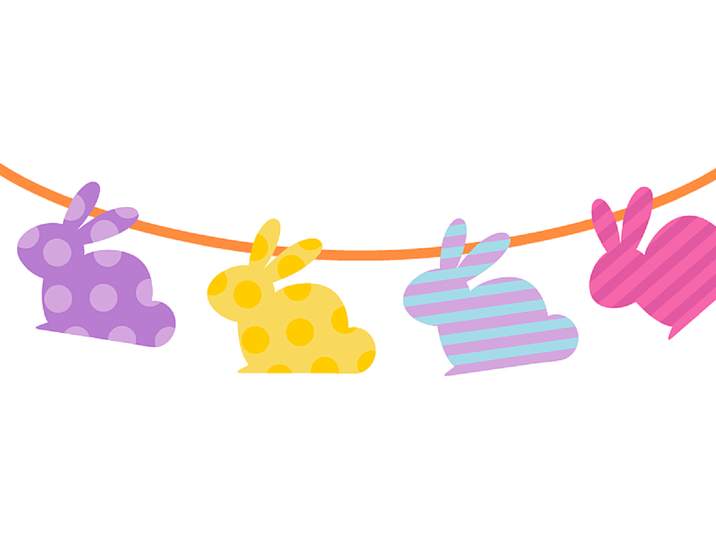 Free Printable Easter Banner Amp Cupcake Toppers