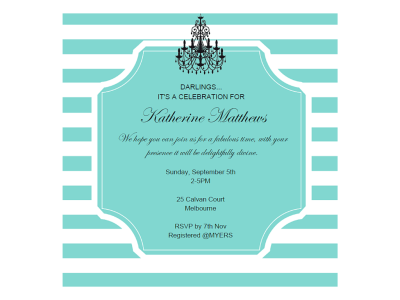 Breakfast At Tiffany S Custom Invitation Bridal Shower Sweet 16 Baby Printed For You Or Digital