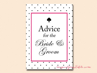 advice for the bride and groom pdf