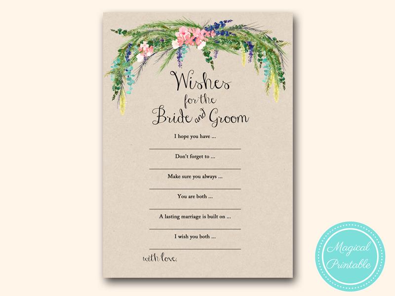 Luau Hawaiian Bridal Shower Games Magical Printable