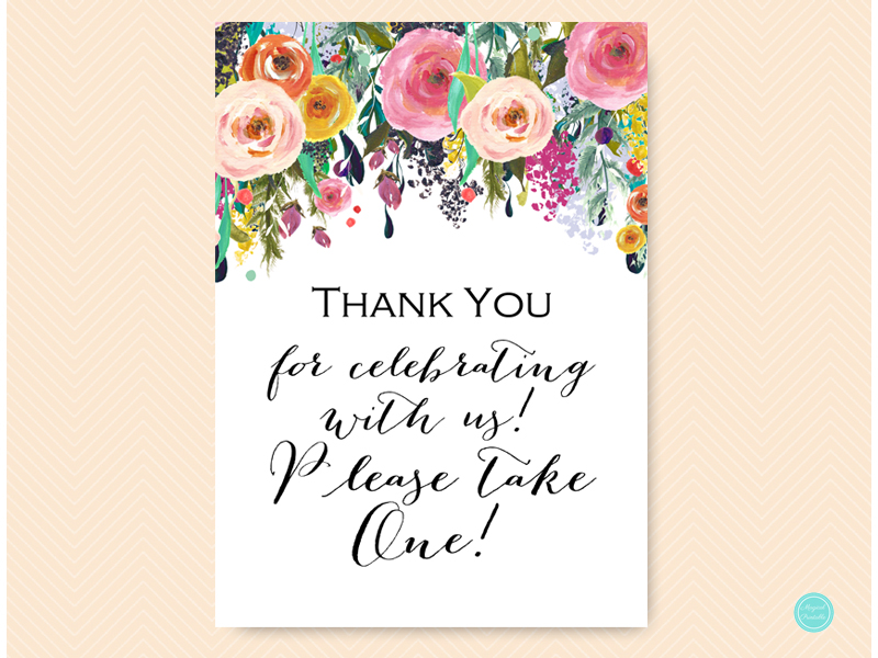 image relating to Please Take One Sign Printable called TLC140 Archives - Magical Printable