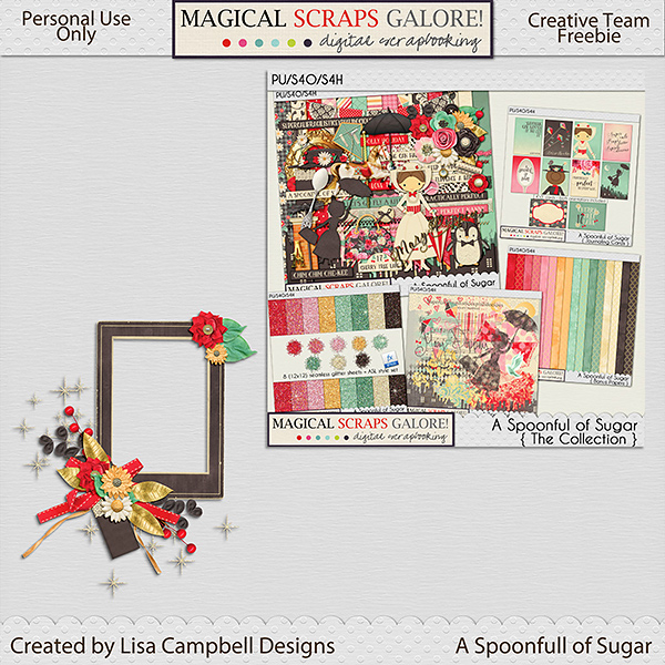 New this week: A SPOONFUL OF SUGAR, 2 gorgeous freebies, and Black Friday Sale!
