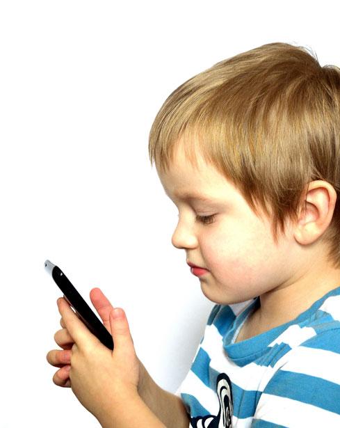 Crianças e celulares