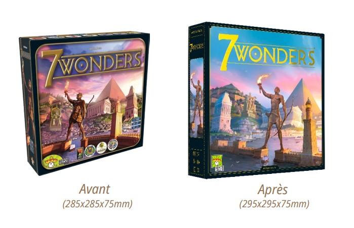 La nouvelle édition de 7 Wonders