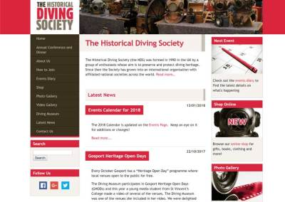 The Historical Diving Society