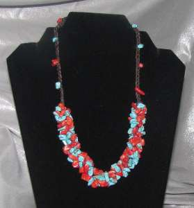 TurquoiseCoralNecklace