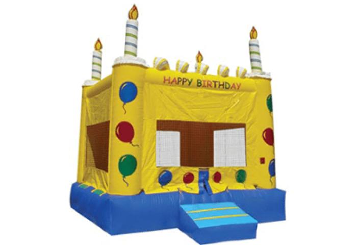 Inflatable Birthday Cake Bouncer Cake Jumper Magic Jump Rentals
