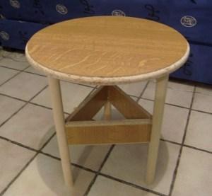 Table basse avec bois de récup