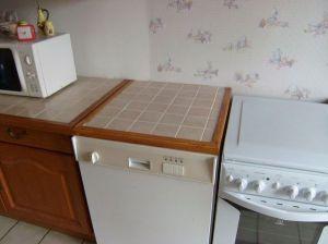 Blog de magicmanu :Aménagement de notre maison, Fabrication d'un plan de travail carrelé