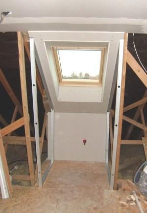 Blog de magicmanu :Aménagement de notre maison, Habillage Velux en placo