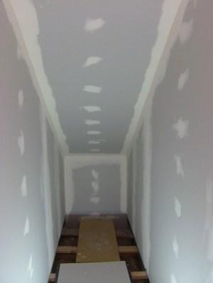 Blog de magicmanu :Aménagement de notre maison, Bandes placo escalier