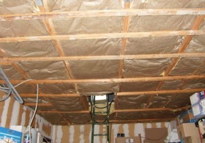 Blog de magicmanu :Aménagement de notre maison, Isolation plafond garage