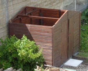 Blog de magicmanu :Aménagement de notre maison, Abri de jardin - Le montage