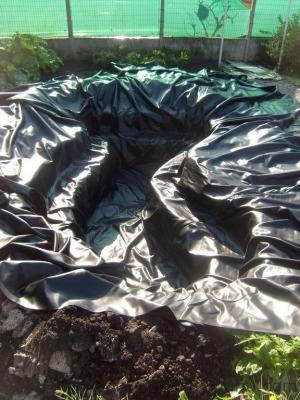Blog de magicmanu : Aménagement de notre maison, Bassin de jardin - La bâche