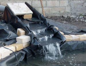 Bassin de jardin – La cascade