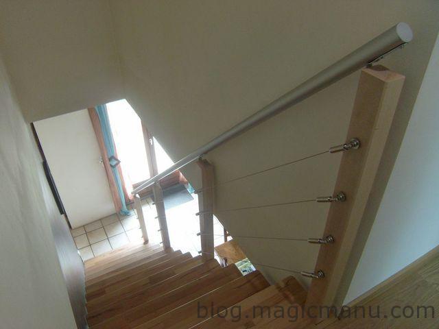 Comment fabriquer une rampe d'escalier moderne