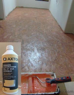Blog de magicmanu : Aménagement de notre maison, Carrelage sur plancher bois : préparation du sol