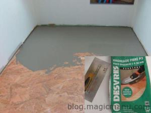Carrelage sur plancher bois : préparation du sol