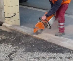 Blog de magicmanu : Aménagement de notre maison, Portail coulissant : correction
