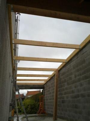 Blog de magicmanu : Aménagement de notre maison, Garage : la toiture en bac acier isolé