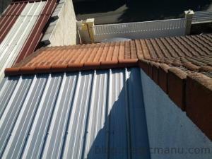 Garage : la toiture en bac acier isolé