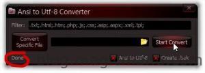 Ansi to Utf-8 Converter_2