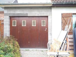 Garage : menuiseries