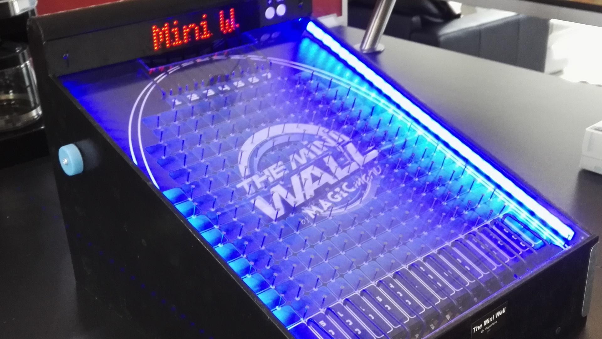 The Mini Wall : Fabriquer le jeu électronique