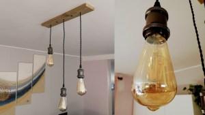 [Mini Tuto] Fabriquer un lustre vintage Edison