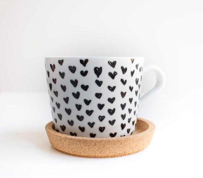 ikea hack mug. valentines day gift