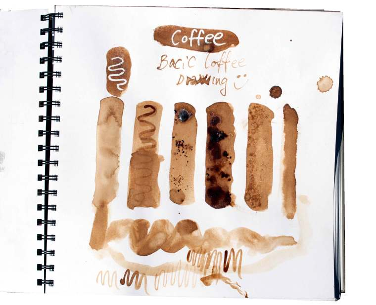 paint with tee and coffee, Coffee painting tutorial ,Learn how to with Coffee or tea, click now to learn all about it