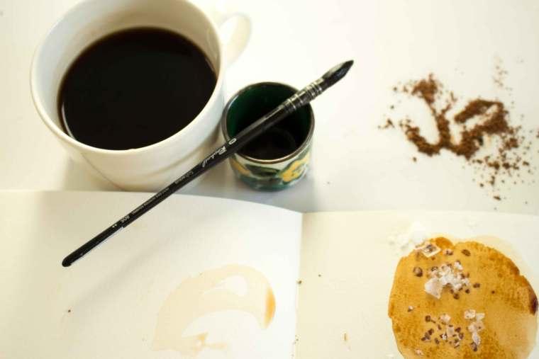 watercolor coffee