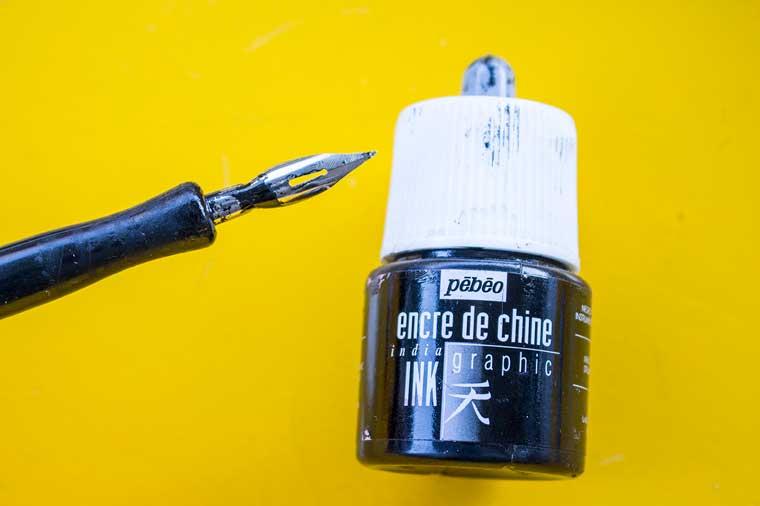 pedeo ink encre de chine