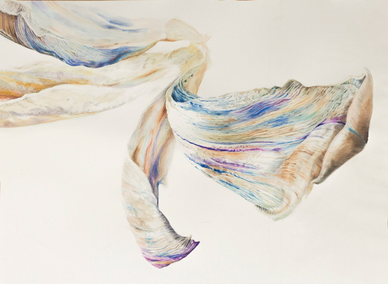 _cathrine Gilje og Magny tjelta Aksdal utstilling watercolor and drawings . Flower paintings