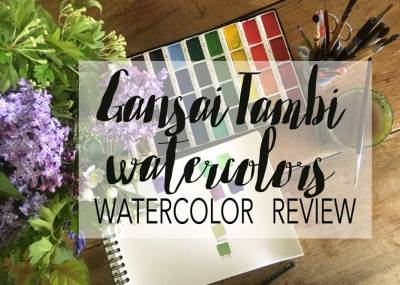 I considered the colors as student quality and Gansai Tambis watercolors set are well worth the money! Getting a new hobby can be pricey, but Gansai Tambis has a fantastic price.