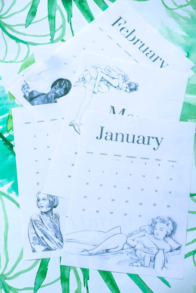 Sign up for the VIP and Get the free calendar. January 2019 Free calendared #freecalendar2019