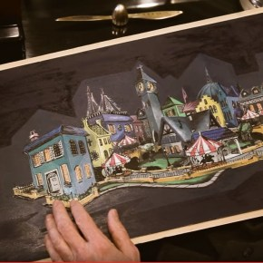 What Could Have Been? Tony Baxter's 'Mary Poppins' Attraction.