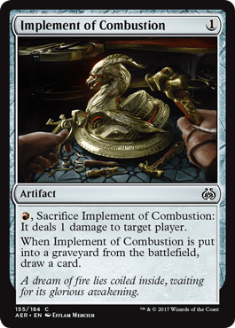 Implement Of Combustion From Aether Revolt Spoiler