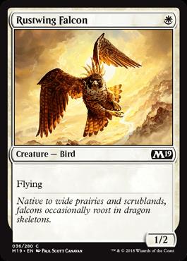Rustwing Falcon - Core 2019 Spoiler