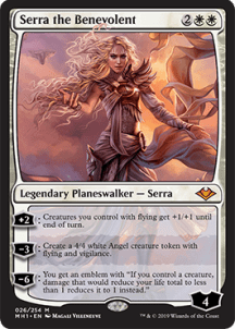 Serra the Benevolent - Modern Horizon Spoiler