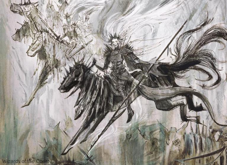 Muderous Rider Alter Art - Mis 5 Cartas Favoritas