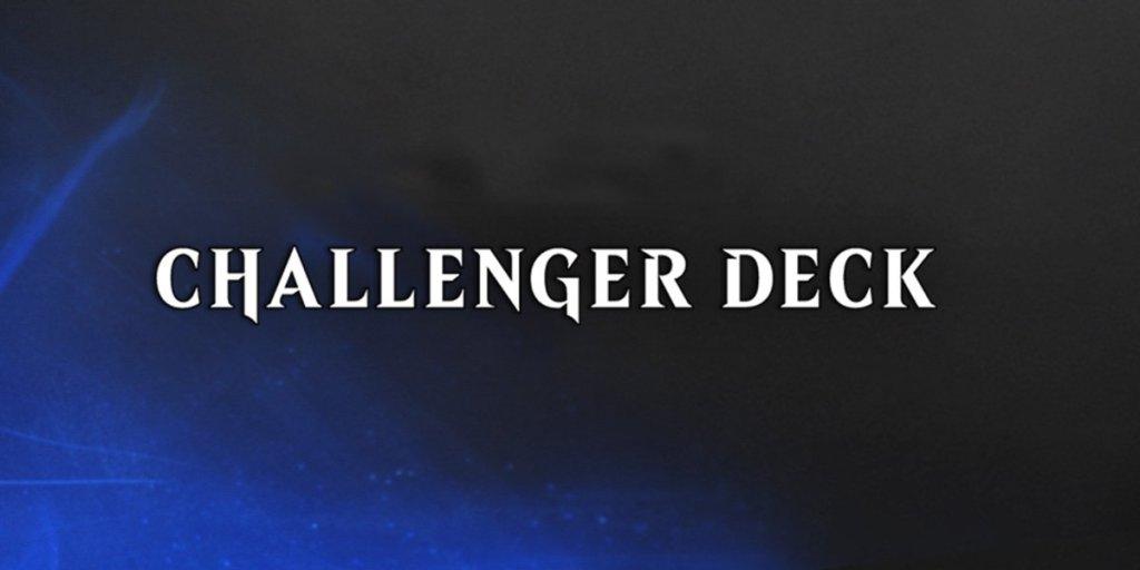 challenger decks 2020