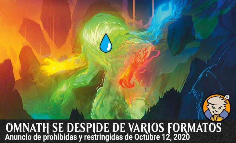 Prohibido el Omnath en estandar Banner Magicsur Chile