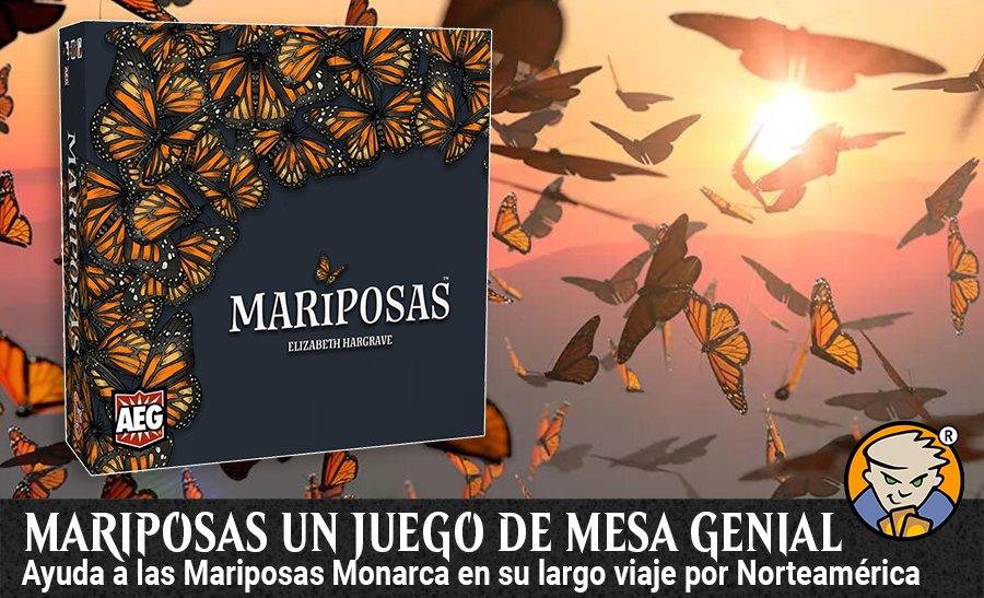 Mariposas un juego de mesa genial banner magicsur chile