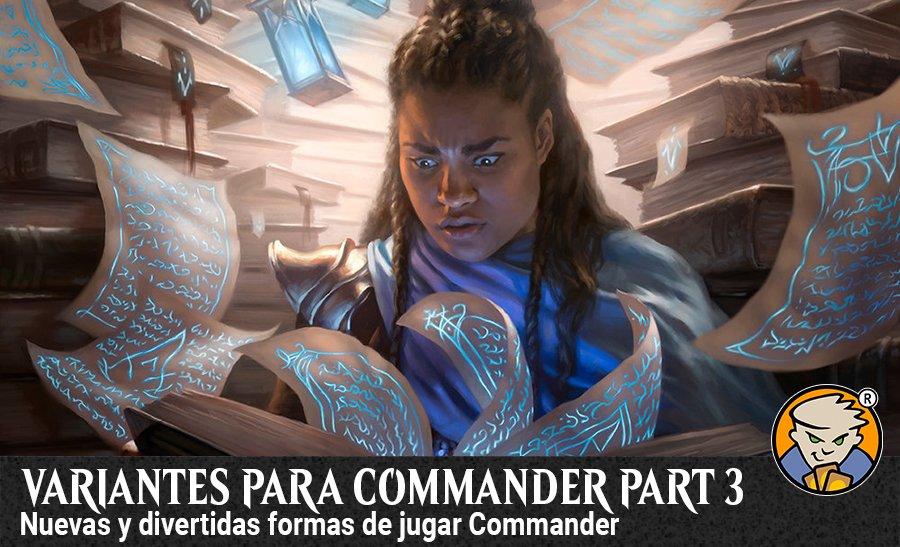 Variantes para commander EDH Parte 3 - banner arte magicsur blog
