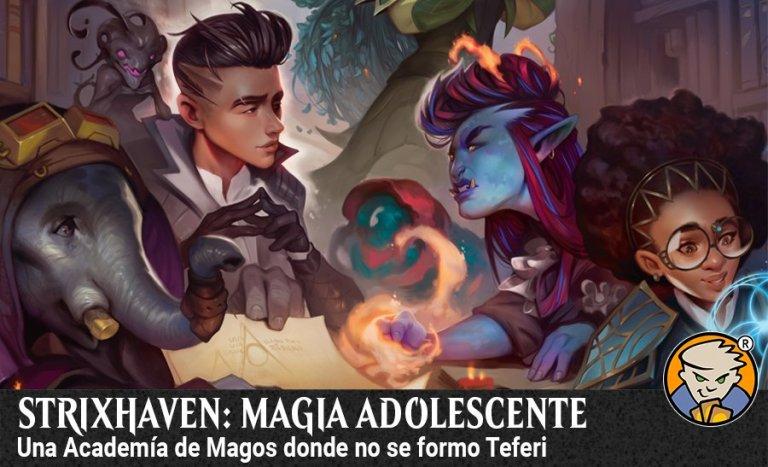 Strixhaven Academia de magos MTG Blog banner magicsur chile
