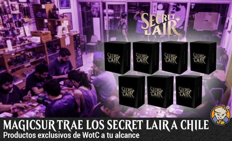 LLegan los Secret Lair a Chile - banner de Magicsur Chile Blog