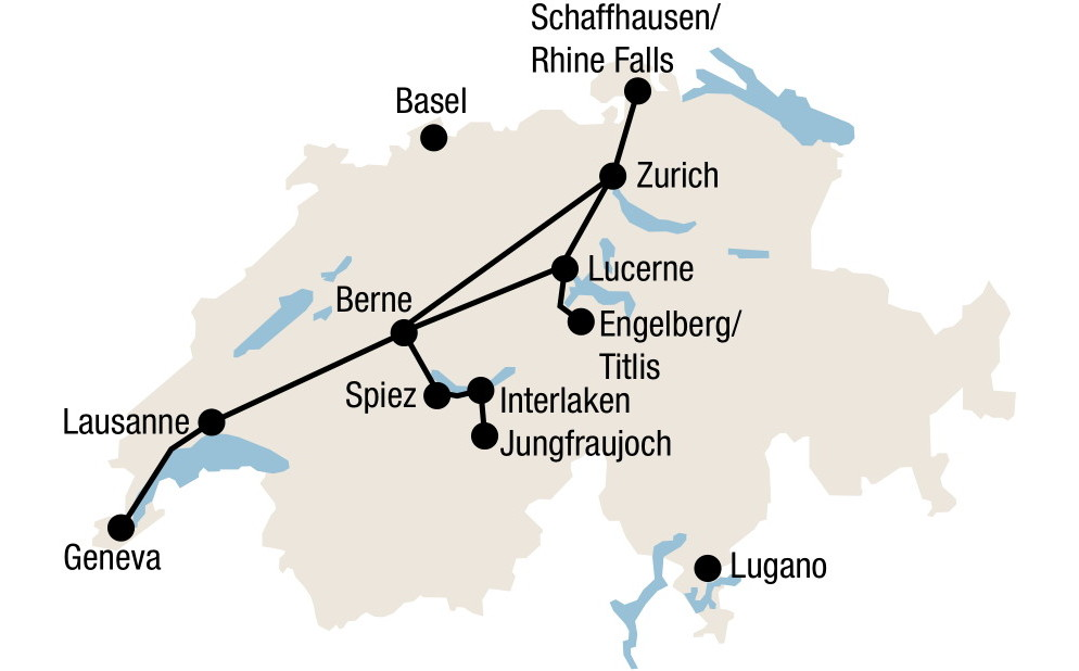swiss-cities-route