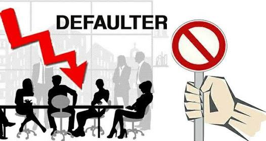 Defaulters Are Out